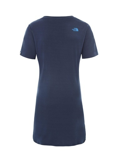 The North Face Kadın Sımple Dome Tişört Dress - Eu Nf0A493Tn4L1 Lacivert